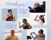 Visual Lyrics Falcon Ridge